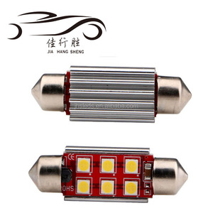 LED Festoon 3030 6smd Light Canbus ERROR FREE 31mm Festoon Car Interior Bulbs Aluminum