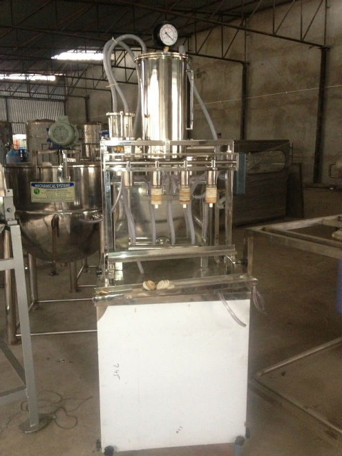 jam filling machine for small industry