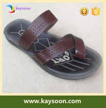 Beach sandals summer men leather sandals slippers leather shoes