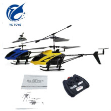 Shantou Chenghai toys battery power indoor rc mini helicopter 2ch / 2.5ch remote aircraft front light drone with gyro for choice