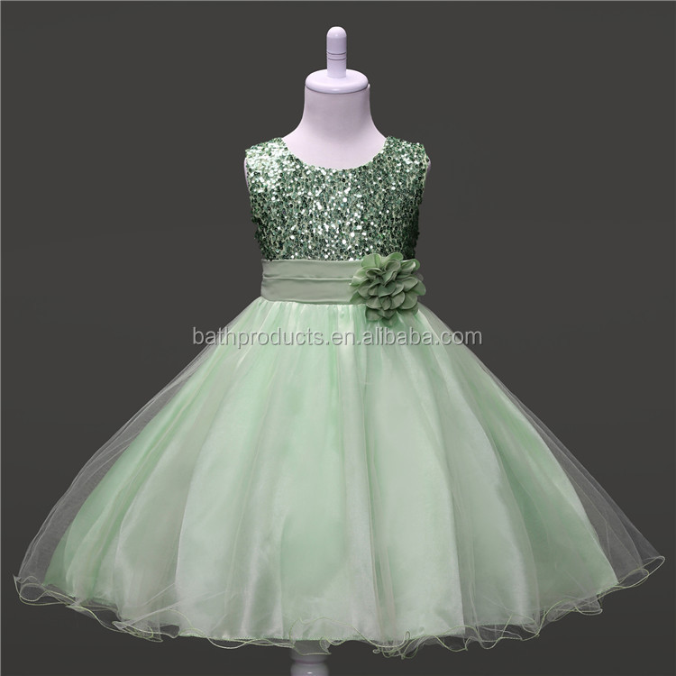 Factory direct sales kids traditional dresses pageant dresses for kids