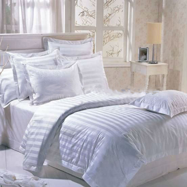 Wholesale Hotel Textile Jacquard/Embroidery/Stripe China Duvet Cover Set
