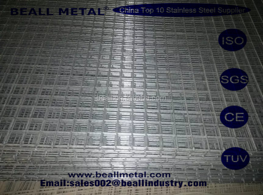 SS304 STAINLESS STEEL WIRE WELDED CLOTH MESH MADE IN CHNA