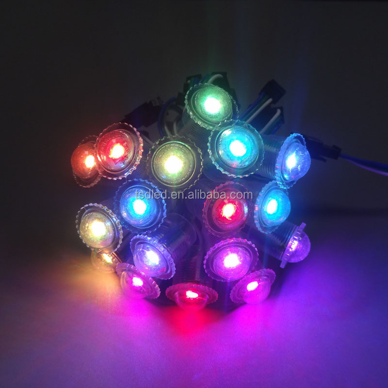 G series waterproof ws2811 rgb pixel led 20mm pixel led light for funfairs