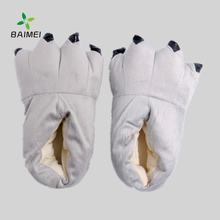 Cheap Winter Warm Indoor Animal Claw Slippers