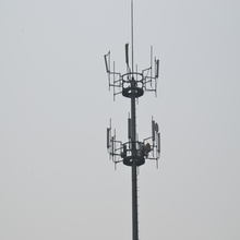 Long lifetime high quality single pole tower