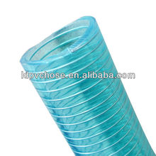 8inch pvc spiral steel wire reinforced hose pipe