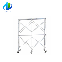 Hot dipped galvanized aluminum scaffolding system for sale