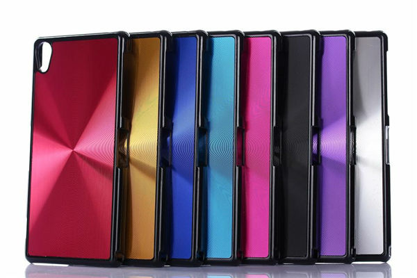 Mobile phone aluminum cover case for sony xperia z2