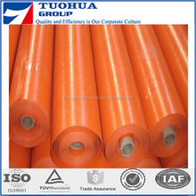 Clear Transparent PE Tarpaulin grid polyethylene tarps sheeting pe tarpaulin roll