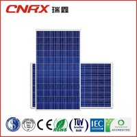 24v solar system and battery 250w poly crystalline solar panel