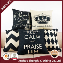 China supplier best price wholesale plain custom cushion cover