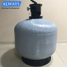 Sand Water Filters Fiber Glass ABS Plastics 900mm Diameter Swimming Pool Sand Filter