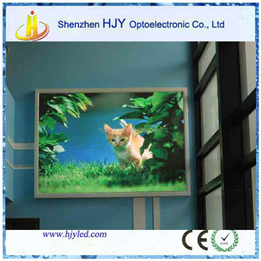 high quality led display manufacture play blue picture video P6 led billboard