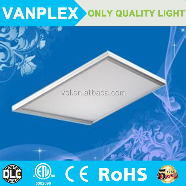 30W ultra thin led light panel UL passed;130-140lm/W led panel lamp