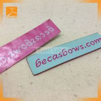 2015 JCBasic fashion iron on High Density Woven Label For Clothing