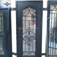 2016 Luxury wrought iron entry door/single iron entry door/iron door