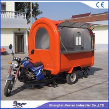 Top quality fast bbq food cart renting/electric food truck/fast food van for sale