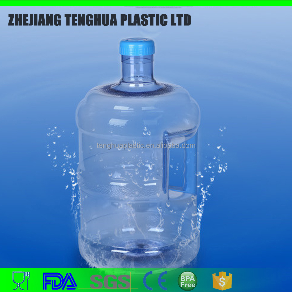 7.5L or 2 Gallon PC material similar Pet water bottles for drinking spring water