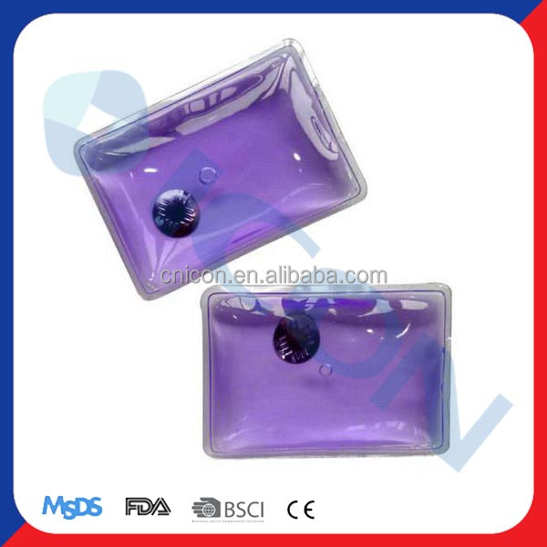Magic gel heat pad/instant hot pack/reusable hand warmer