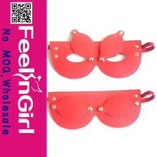 Wholesale Fashion Sexy Red Leather Masquerade Party Masks