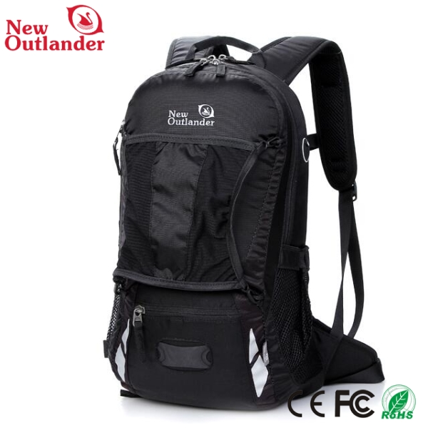 2016 new make high quality school bag with customized logo printing backpack bag