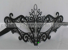 2014 fashion sexy woman party dance metal lace eye mask