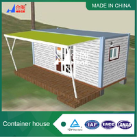 portable container house, beautiful prefab container home