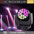2017 hot sell dj lighting 18x15w stage lighting zoom led head rgbw wash light