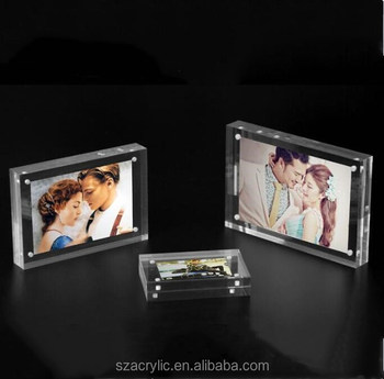 2018 acrylic block photo frame picture frame 4x6,5x7
