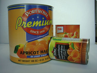 2015 Crop 850ml Canned Apricot In Light Syrup,Canned Food Manufacturer From China