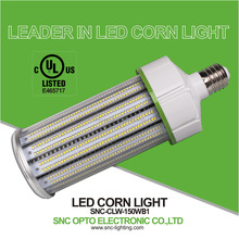 UL DLC listed 150W LED Corn Light e39 based to replace 450W MH/ HPS