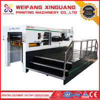 XMQ-1050S Full automatic Compressible Cutting Flatbed Die Cutter Machine For Corrugated Paper