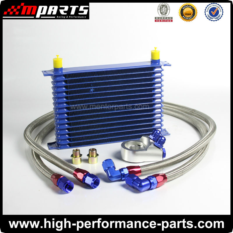 Trust Type Universal Engine Oil Cooler Kit(15Row)