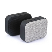 Cloth wireless Bluetooth speaker radio card U disk to play voice calls cloth network Bluetooth stereo