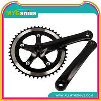Y106 fixed gear bike aluminum bike crankset