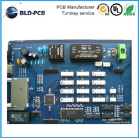 electronic prototype manufacturing coffee machine multilayer pcb design FR4 printed circuit board