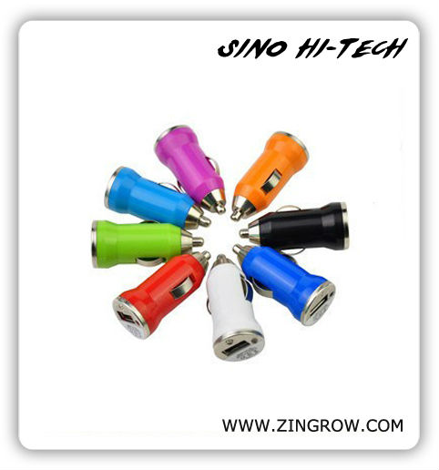 Universal Color Mini USB Car Charger for iPhone