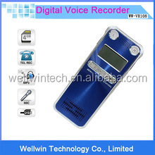 External Mic 8GB Voice Activated USB Digital lcd Audio Voice Recorder Dictaphone MP3 Telephone Record With Retail Box