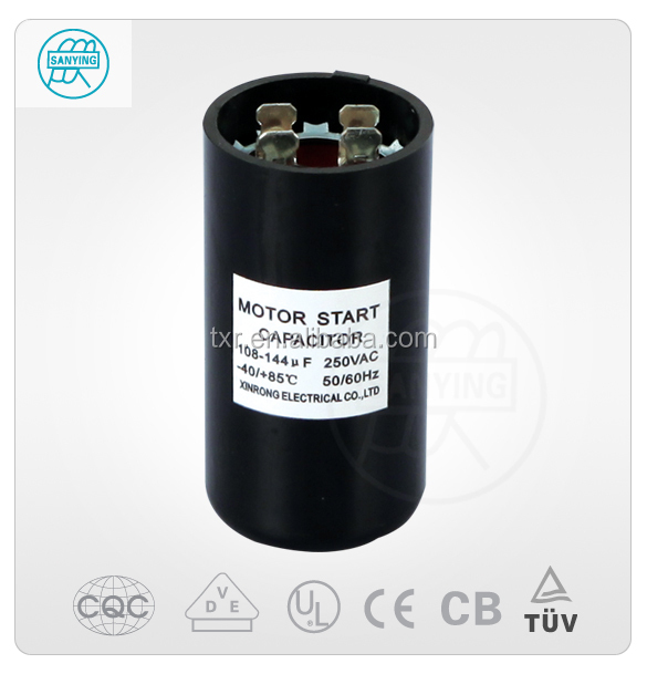 China Supplier CBB60 Motor Run Capacitor With CB/CE/UL/CQC