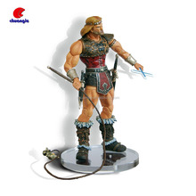 Custom General figure with sword and weapons Hot sale soldiers action figures