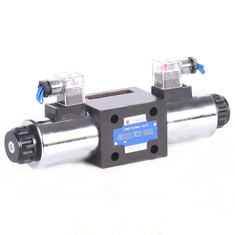 4WE10 series hydraulic rexroth directional control solenoid Connector valve 12v 24v DC forklift parts