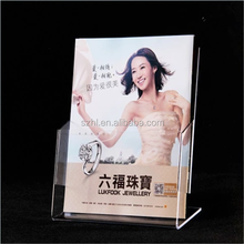 magazine display stand holder, acrylic display stand
