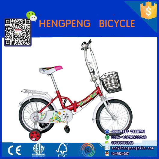 12 inch kid bike/mini beach cruiser bicycle folding bike/12 inch folding kid's bicycle