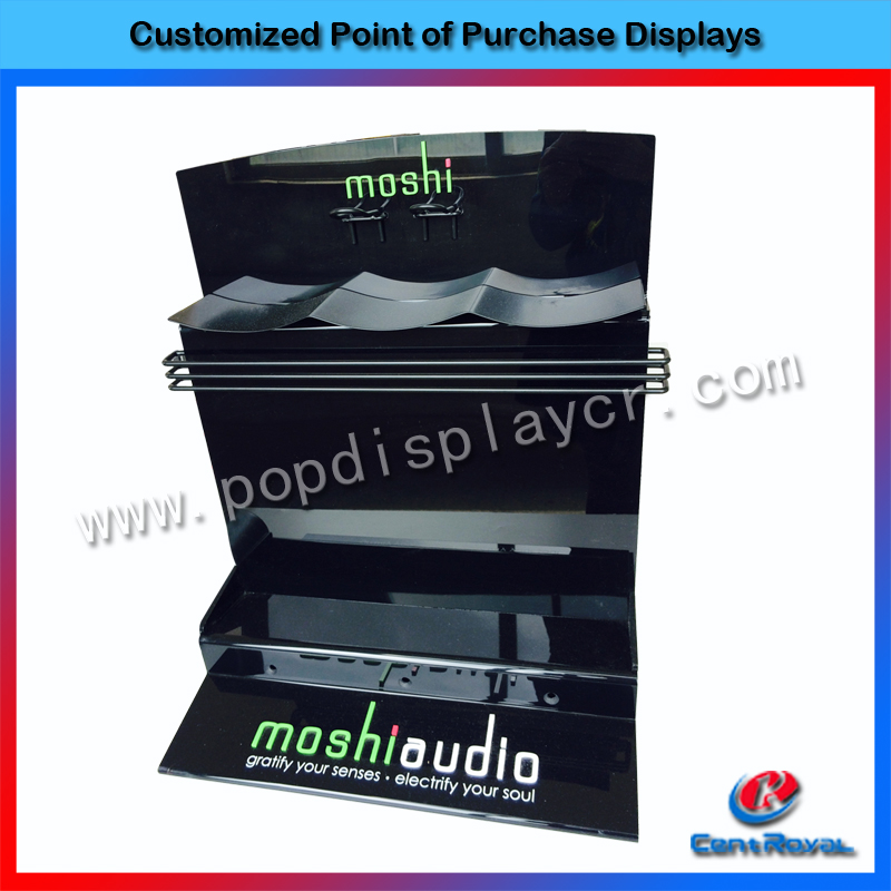 Factory price customized showroom design shop display electronic