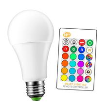 W28 LED Bulb 3W 5W 9W rgbw lamps Indoor Bedroom Lights Atmosphere Decorate Color changing