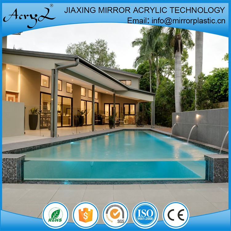 high quality cheap custom unbreakable acrylic panels for swimming pool