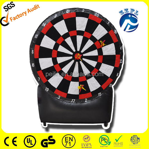 ZZPL giant Inflatable foot dart board/inflatable soccer dart board for adults SPR-9