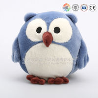 lovely blue dodo bird with big eyes plush soft toys