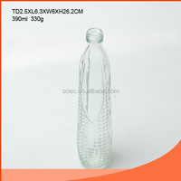 Peanut Shaped Juice Glass Bottle with Tap